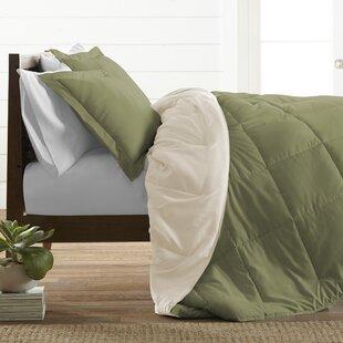 Powhattan Ultra Soft Down Alternative Reversible Comforter Set