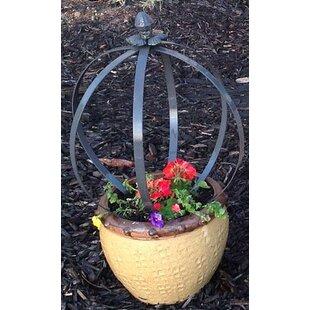 Marshall Home Garden Sphere Iron Gothic Trellis