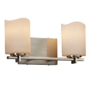 Best Price Wantage 2-Light LED Vanity Light By Loon Peak