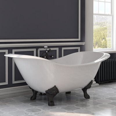 "72"" x 30"" Freestanding Bathtub Cambridge Plumbing"