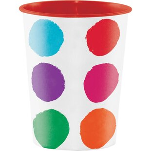 Art Party Keepsake Plastic Disposable Cup (Set of 8)
