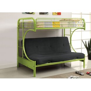 Quezada Twin Over Full Futon Bunk Bed by Zoomie Kids