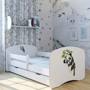 Panda Paulchen Convertible Toddler Bed With Drawer By Zoomie Kids