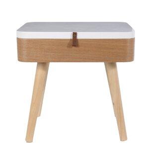Estefania Bedside Table By Norden Home