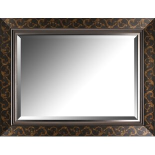 Fleur De Lis Living Burt Decorative Wall Mirror