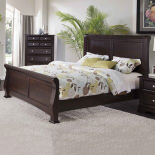 Gavril Sleigh Standard Bed by Charlton Home