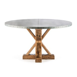 Gracie Oaks Schulte Solid Wood Dining Table