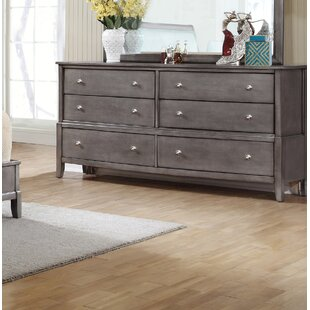 Gracie Oaks Tanya 6 Drawer Double Dresser