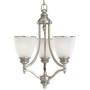 Westerville 3-Light Shaded Chandelier by Darby Home Co