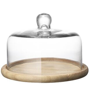 Payne Domed Cake Stand  sc 1 st  Wayfair & Glass Cake Dome | Wayfair.co.uk