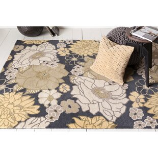 Savings Fort Collins Floral Rug By Red Barrel Studio