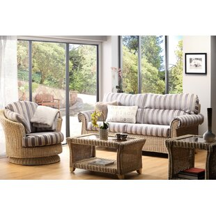 Cynthia 4 Piece Conservatory Sofa Set By Beachcrest Home