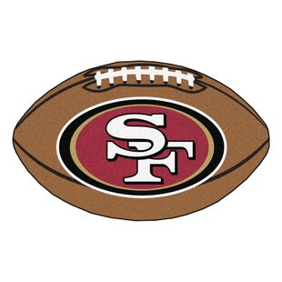 NFL - San Francisco 49ers Football Mat By FANMATS