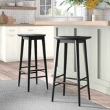 Jaxon Solid Wood Bar & Counter Stool by Laurel Foundry Modern Farmhouse