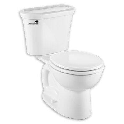 Excellent Cadet Tropic 128 Gpf Water Efficient Round Two Piece Toilet Pabps2019 Chair Design Images Pabps2019Com