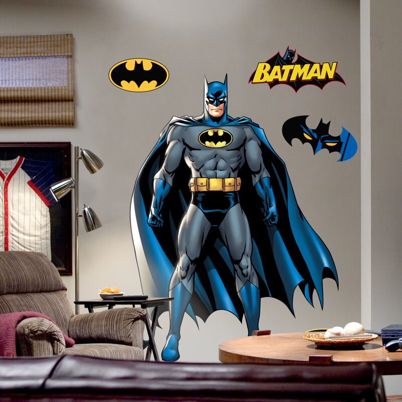 Genial Super Heroes Batman Wall Decal