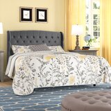 Novalee Upholstered Platform Bed by Darby Home Co