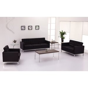 Pyron Leather Loveseats by Latitude Run