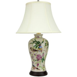 Cruse Floral 24.5 Table Lamp