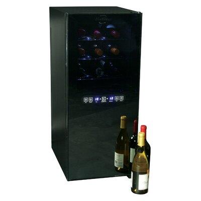24 Bottle Dual Zone Freestanding Wine Cooler  sc 1 st  Wayfair & Cuisinart 32 Bottle Dual Zone Freestanding Wine Cooler | Wayfair