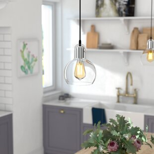 Glancy 1-Light Inverted Pendant