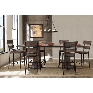 Cathie 7 Piece Counter Height Dining Set by Gracie Oaks 2019 Salet