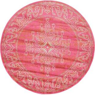 Cadencia Pink Area Rug by Mistana