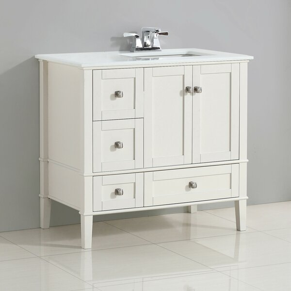 Outstanding Right Side Sink Vanity Wayfair Beutiful Home Inspiration Xortanetmahrainfo
