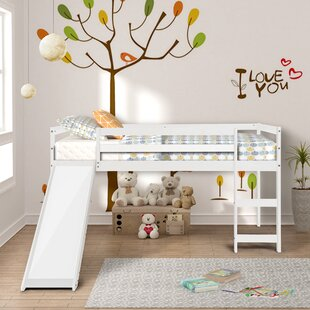 Nekoosa Twin Platform Low Loft Bed by Harriet Bee