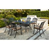 Lenahan 7 Piece Dining Set with Cushions