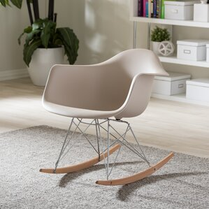 Iversen Shell Arm Chair by Mercury Row