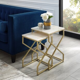 Jayceon Square 2 Piece Nesting Tables