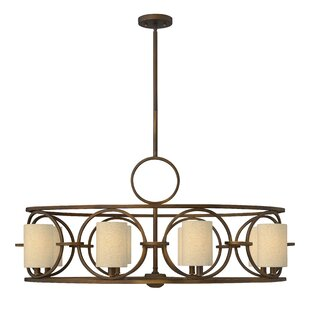 Fredrick Ramond Pandora 8-Light Shaded Chandelier