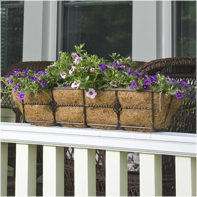 CobraCo Antoinette Steel Rail Planter