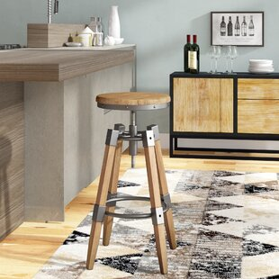 Comsouth Adjustable Height Swivel Bar Stool Trent Austin Design