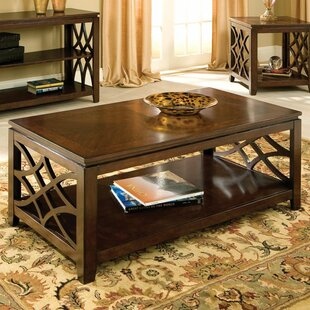Blue Hills Coffee Table by Three Posts