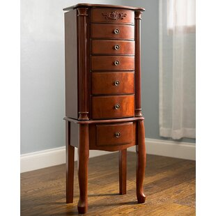 Best Reviews Greenway Jewelry Armoire by Fleur De Lis Living