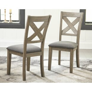 Bromborough Upholstered Dining Chair (Set of 2) Gracie Oaks