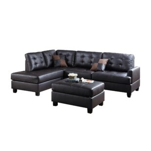 Venegas Reversible Sectional With Ottoman by Latitude Run Purchase