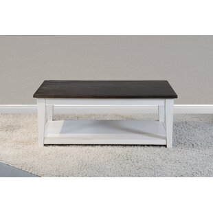 Helms Coffee Table with Tray Top