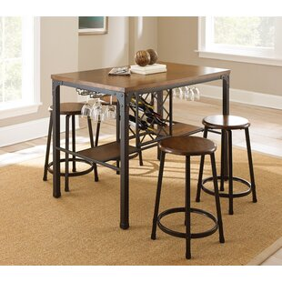 Woodside 5 Piece Pub Table Set