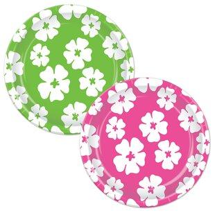Hibiscus Paper Appetizer