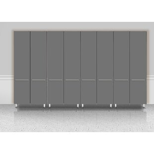 Garage 80 H x 142 W x 21 D 4 Piece Storage Cabinet Set by Ulti-MATE