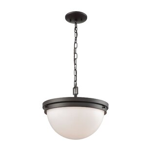Breakwater Bay Saskia 3-Light Bown Pendant