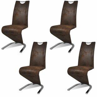 Adamsville Upholstered Dining Chair (Set of 4) by Orren Ellis
