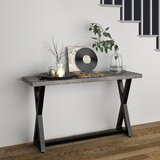 Breesha 53 Solid Wood Console Table by Union Rustic