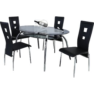 Brookview 5 Piece Dining Set