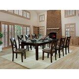 Wegman 9 Piece Extendable Dining Set by Red Barrel Studio®