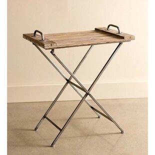 Davis Wooden Folding Tray Table