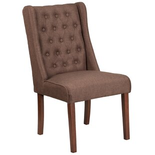 Rotterdam Upholstered Dining Chair by Charlton Home Bargaint